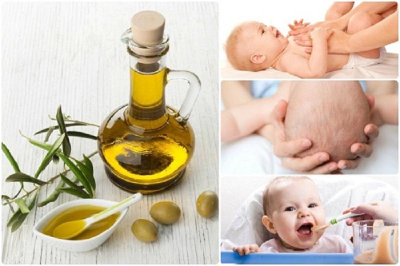 Tác dụng của việc dùng dầu oliu nấu ăn cho bé