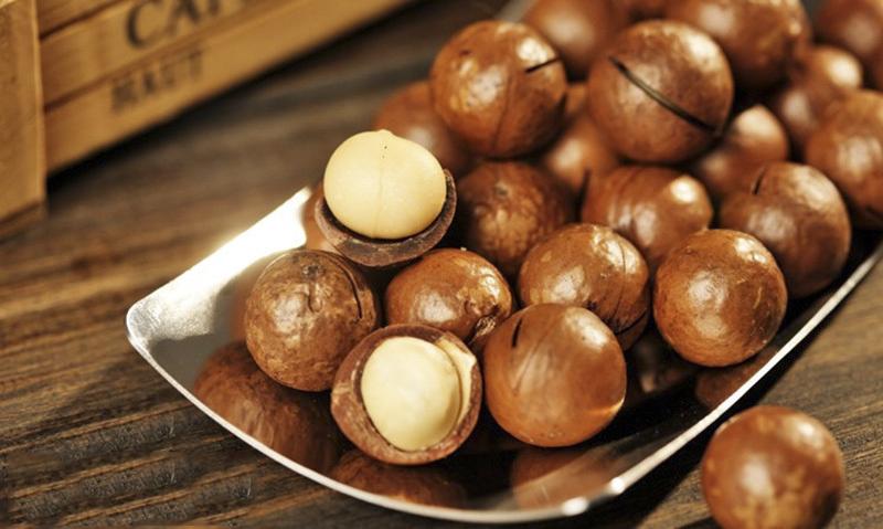 Hạt macca Việt Nam có thành phần dinh dưỡng tương tự hạt macca Úc