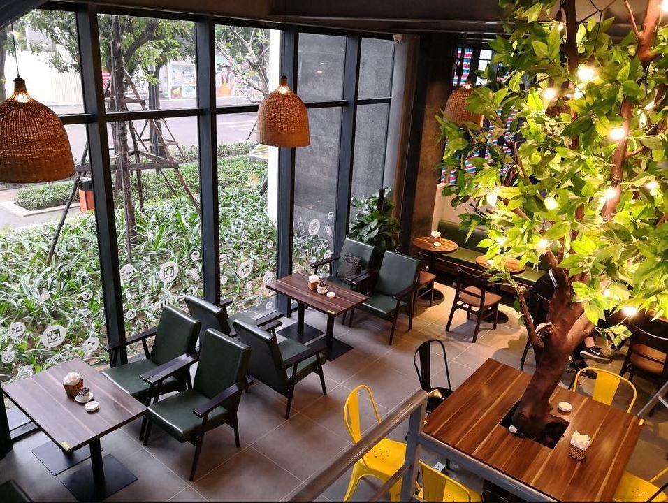 Café công sở cần lịch sự, đơn giản, chuyên nghiệp, yên tĩnh