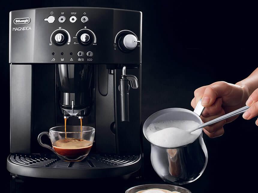 Máy pha cà phê sẽ tạo sự chuyên nghiệp và uy tín